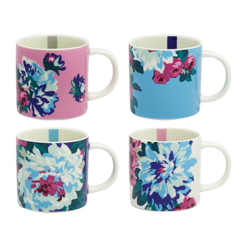 Cuppa Multi Floral Mug - Set of 4