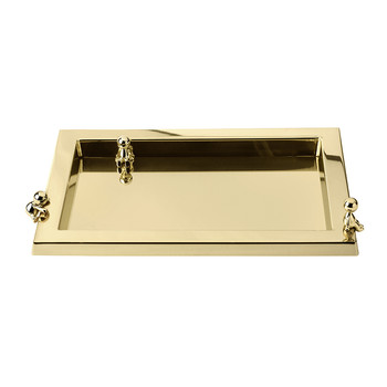 Omini Vassoio Gold Serving Tray