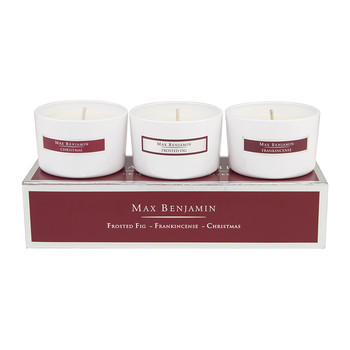 Christmas Favourite Candles - Set of 3