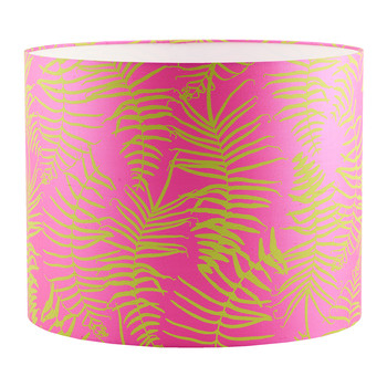 Feather Fern Lamp Shade - Neon/Chartreuse