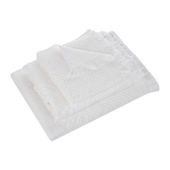 Zoe Towel - Snow