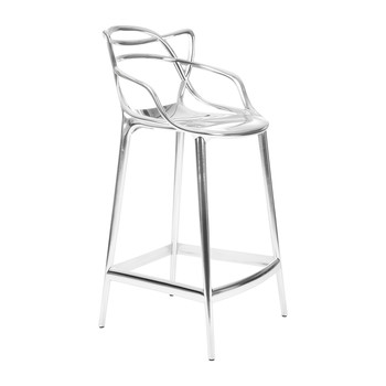 Masters Stool - Chrome - 65cm