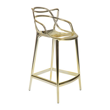 Masters Stool - Gold - 65cm