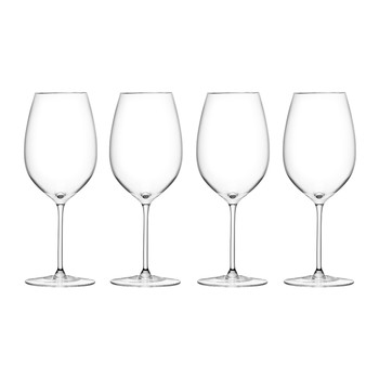 Wine Red Goblet Set of 4