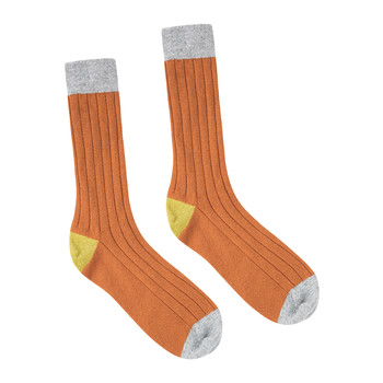 Men's Hinton Cashmere Socks - Sienna