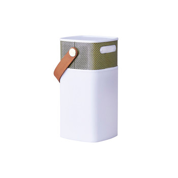 aGlow Bluetooth Speaker - White with Gold Front