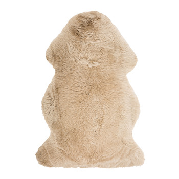 New Zealand Sheepskin Rug - 100x60cm - Taupe