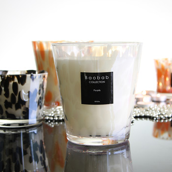 Pearls Scented Candle - White Pearls