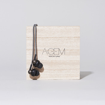 aGem In-Ear Headphones - Black