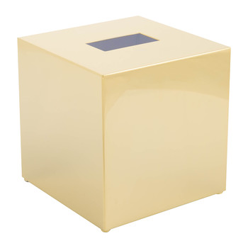 KB83 Tissue Box - Square - Gold