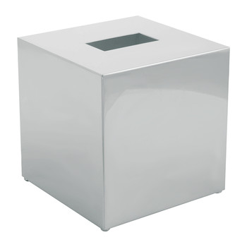 KB83 Tissue Box - Square - Chrome