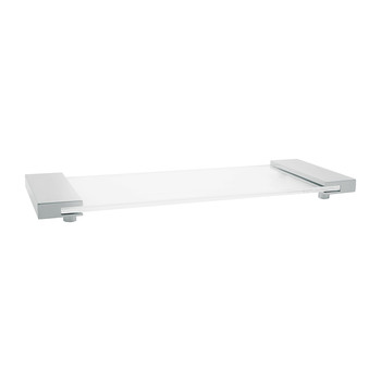 TAB34 Tray - Small - Chrome/Glass