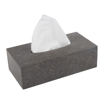 Hammam Large Tissue Holder - Dark Grey