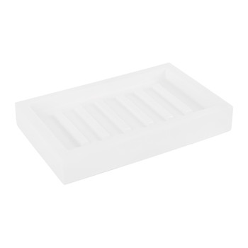 Moon Soap Dish - White