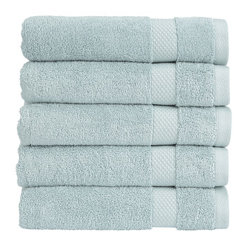 Bamford Towel - Spa Blue