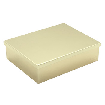 Chocolate Box - Gold Tray & Lid