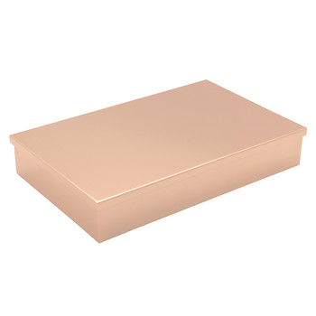 Chocolate Box - Rose Gold Tray & Lid