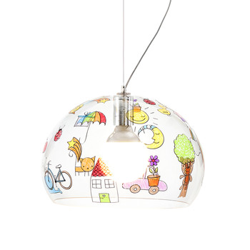 Children's FL/Y Ceiling Light - Sketch