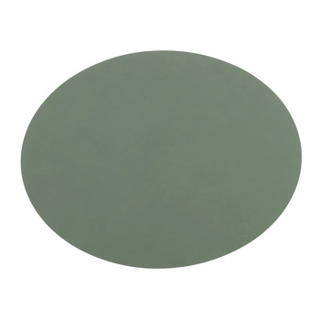 Table Mat Oval - Green
