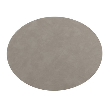 Oval Table Mat - Gray