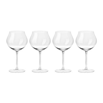 Clarity Handmade White Wine Glass - Set of 4