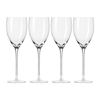 Droplet Handmade Red Wine Glass - Set of 4