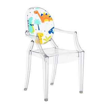 Children's Lou Lou Ghost Chair - Dinosaur
