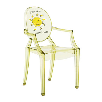 Children's Lou Lou Ghost Chair - Sun