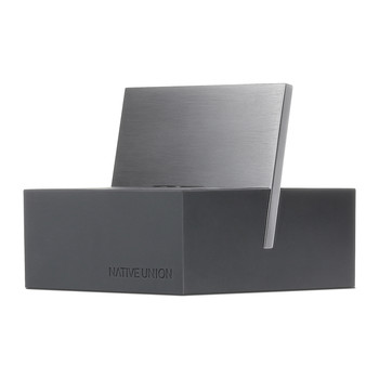 iPhone Lightning Charging Dock+ - Slate