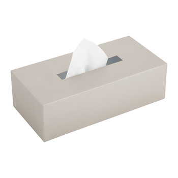 KB82 Tissue Box - Satin Nickel