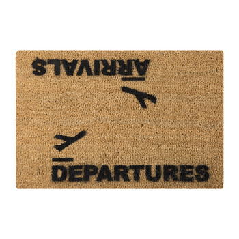 Arrivals/Departures Door Mat