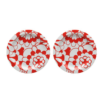 Biancorosso - Dessert Plate - (Set of 2)