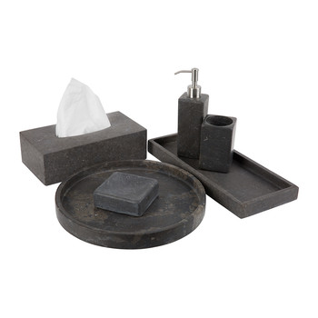 Hammam  Soap Dish - Dark Gray