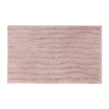 Wave Bath Mat - 60x100cm - Dusty Pink