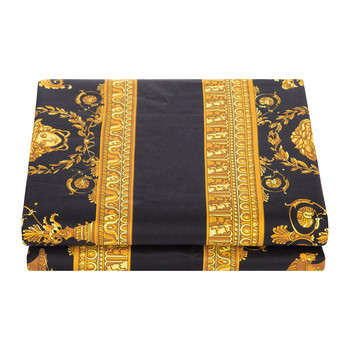 Barocco&Robe King Size Pillowcase Pair - Gold/Black