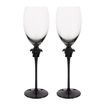 Medusa Lumiere Haze White Wine Glasses - Set of 2