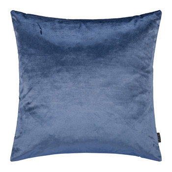 Cotton Velvet Cushion - 45x45cm - Sea Blue