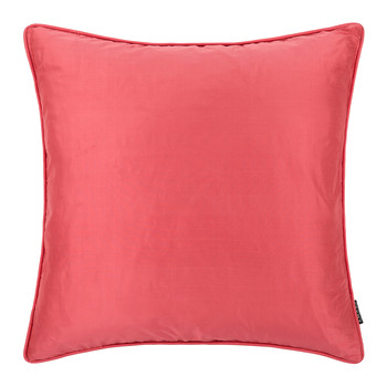 Pure Silk Pillow - 45x45cm - Coral