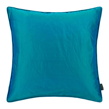 Pure Silk Pillow - 45x45cm - Peacock