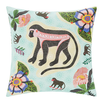Meandering Monkey Pillow - 50x50cm