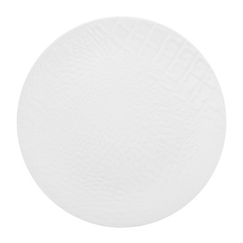 Monroe Stoneware Side Plate - Matt White