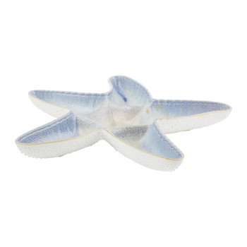 Triton Stoneware Starfish Serving Dish - Blue