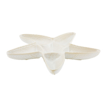 Triton Stoneware Starfish Serving Dish - White