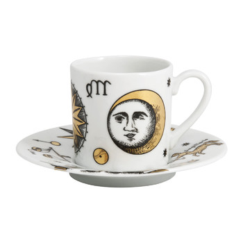 Astronomici Coffee Cup & Saucer - Set of 6