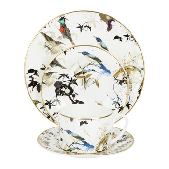 Garden Birds Bread Plate