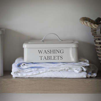Washing Tablet Box - Chalk