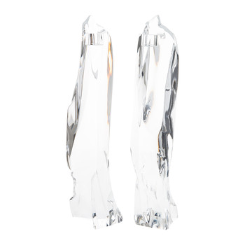 Glaciarium Candlestick - Set of 2 - Crystal