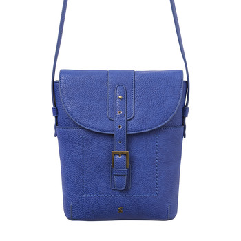 Tourer Bright Cross-Body Bag - Pool Blue