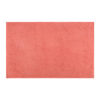 Super Soft Cotton 1650gsm Bath Mat - Coral