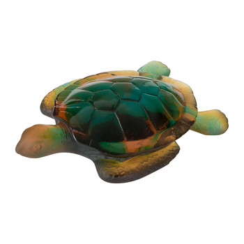 Turtle Sculpture - Amber
